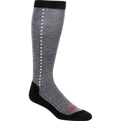 Durango® Boot Women's Lightweight Merino Wool Socks, LIGHT GREY, large