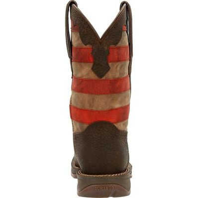 Rebel™ by Durango® Vintage Flag Western Boot, , large