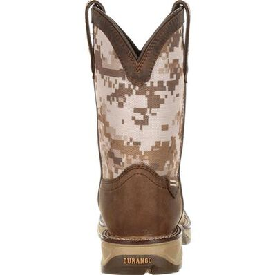 Lil' Rebel™ by Durango® Little Kids Desert Camo Western Boot, , large