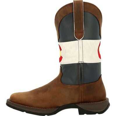 Rebel™ by Durango® Colorado Flag Western Boot, , large