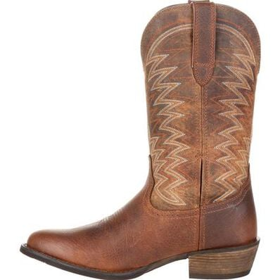 Durango® Rebel Frontier™ Distressed Brown R-Toe Western Boot, , large