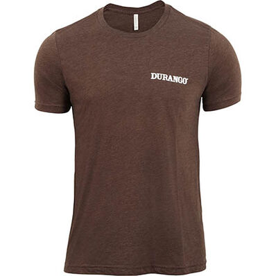 Durango® Unisex Triblend Tshirt, BROWN, large