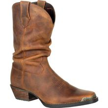 Crush™ by Durango® Women's Brown Slouch Western Boot