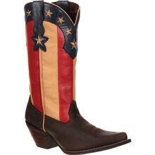 Crush™ by Durango® Women's Stars and Stripes Flag Boot