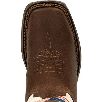 Lil' Rebel™ by Durango® Little Kids Distressed Flag Western Boot, , large