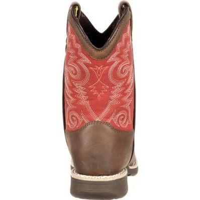 LIL' DURANGO® Little Kid Stockman Western Boot, , large