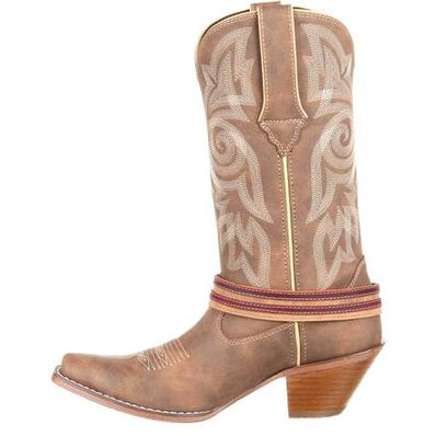 Details about  /Crush by Durango Women/'s Flag Accessory Western Boots DRD0208