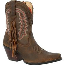 Crush™ by Durango® Women's Roasted Pecan Bootie Western Boot