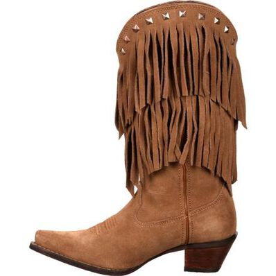 Crush™ by Durango® Women's Fringe Western Boot, , large