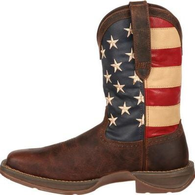 Rebel™ by Durango® Patriotic Pull-On Western Flag Boot, , large