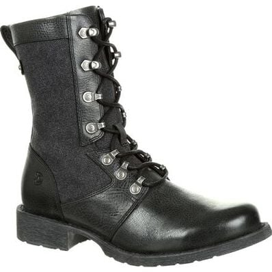 Durango® Drifter Women's Black Military Inspired Lacer Boot, , large