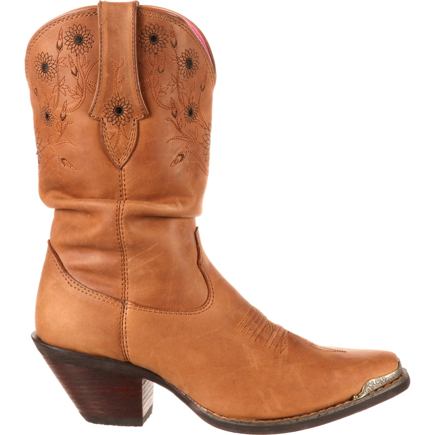 cafc4fc8f79 Crush by Durango Women's Sarah Darling Sunflower Slouch Western Boot