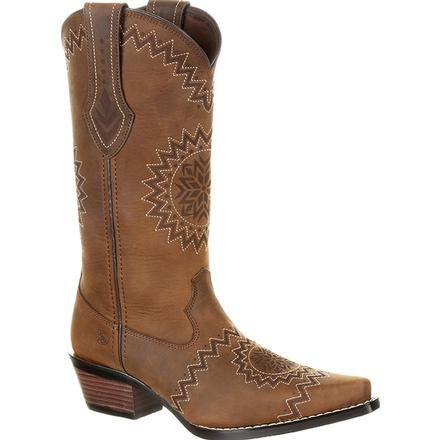 Crush™ by Durango® Women's Laser Etch Western Boot, , large