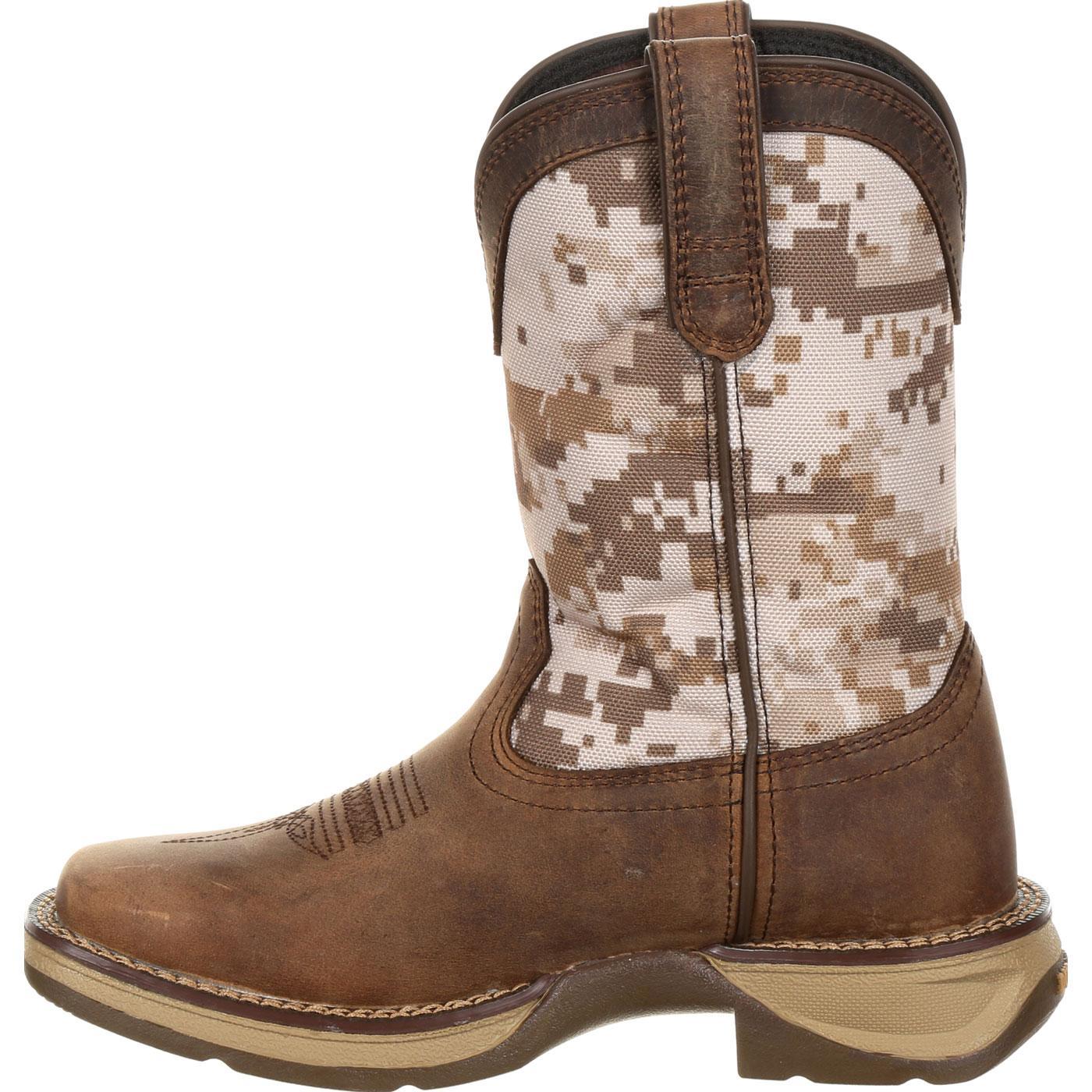 086d7c3cd96d9 Images. Lil' Rebel by Durango Little Kids Desert Camo Western Boot ...