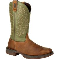Rebel by Durango Coffee & Cactus Pull-On Western Boot, , medium