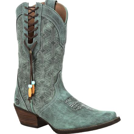 Crush™ by Durango® Women's Gypsy Teal Western Boot