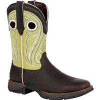 Lady Rebel by Durango Women's Lime Western Boot, , medium