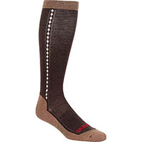 Durango® Boot Women's Lightweight Merino Wool Socks, BROWN, medium