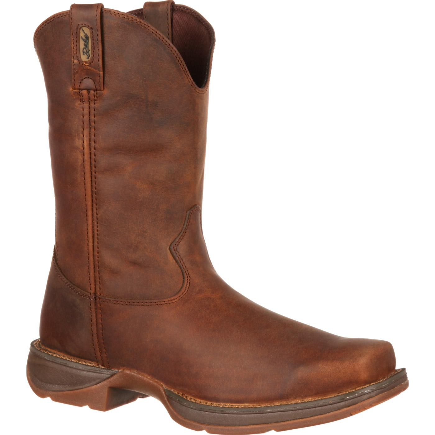 3c21ba81a14 Rebel by Durango Brown Pull-On Western Boot