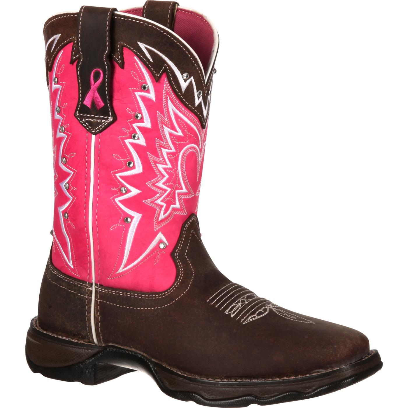 Durango: Women's Pink Ribbon Cancer Benefit Western Boots