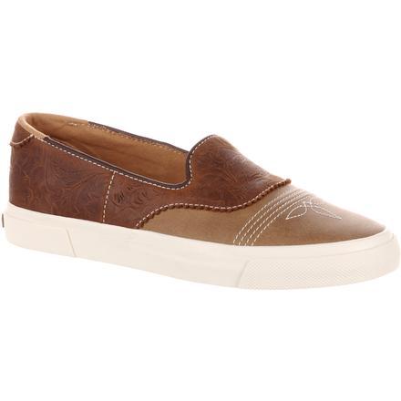 1403588f465d Durango Music City Women s Slip-On Saddle Sneaker
