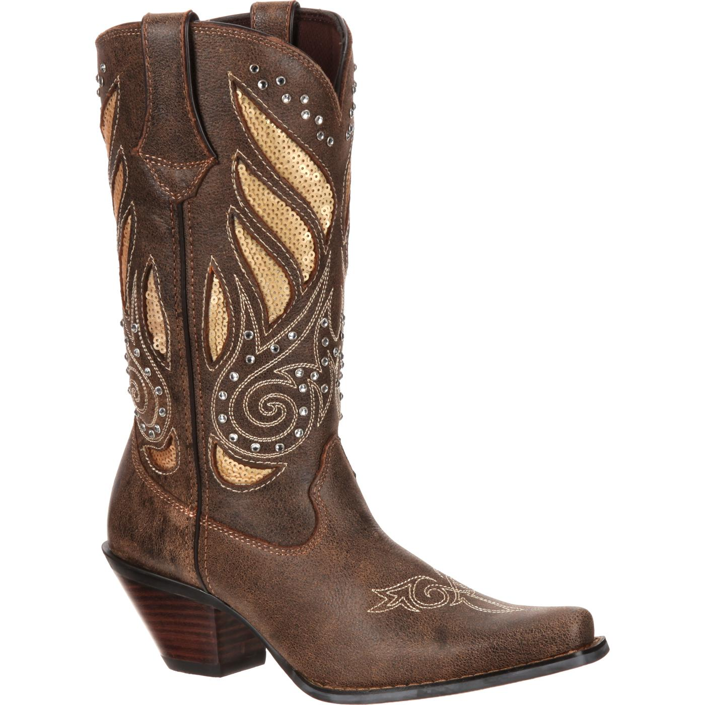 Crush by Durango Women's Bling Western Boot, #RD003