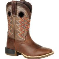 Durango® Lil' Rebel Pro™ Big Kid's Tiger Eye Western Boot, , medium