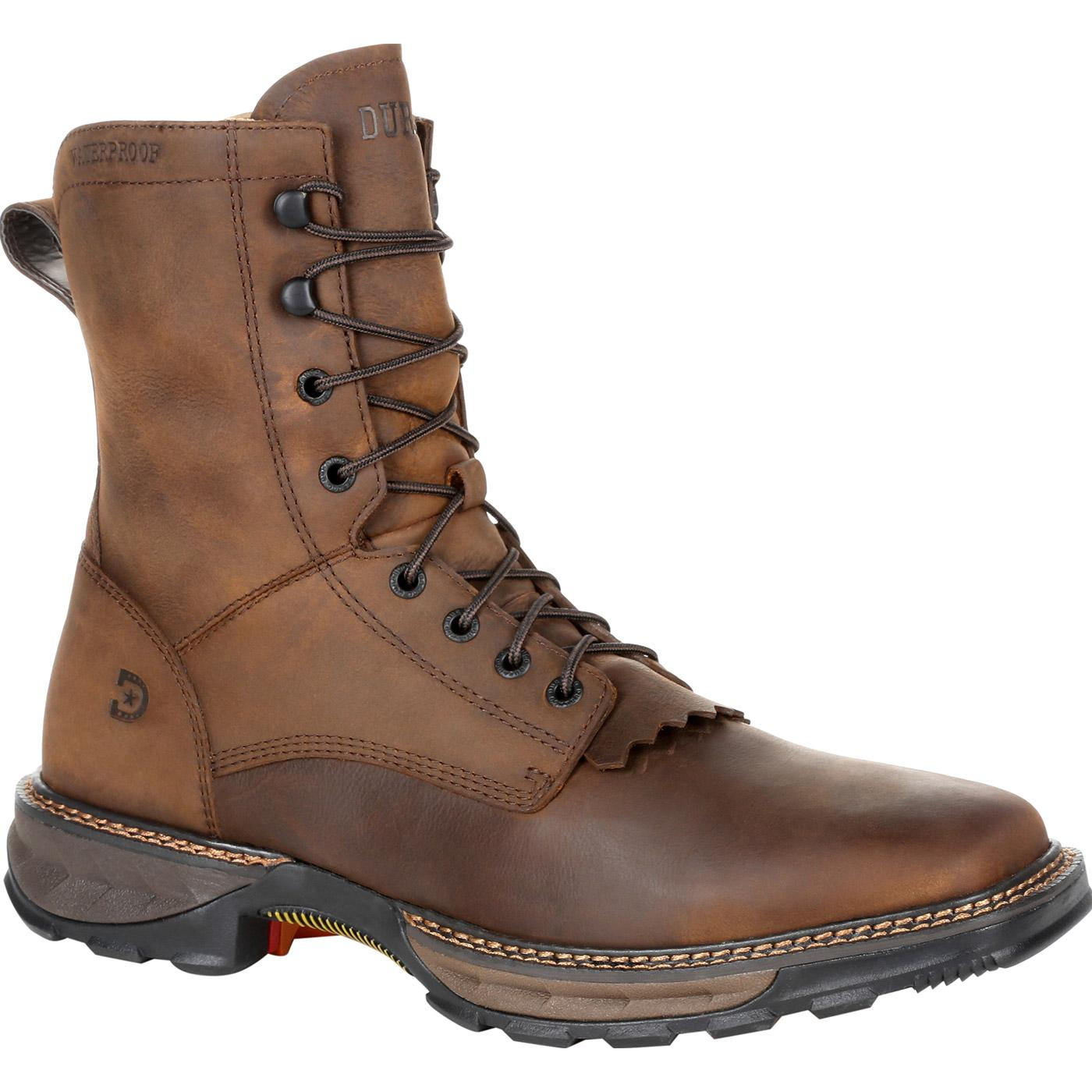 c6e20d808c0 Durango Maverick XP Square Toe Waterproof Lacer Work Boot