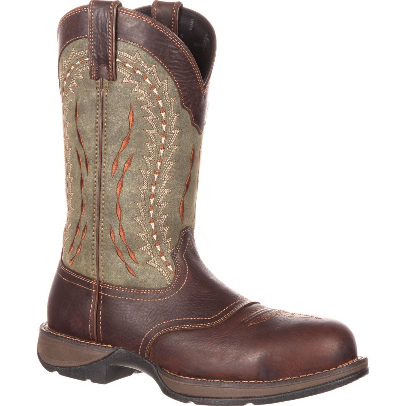 7e02034cb7e Rebel by Durango Composite Toe Saddle Western Boot