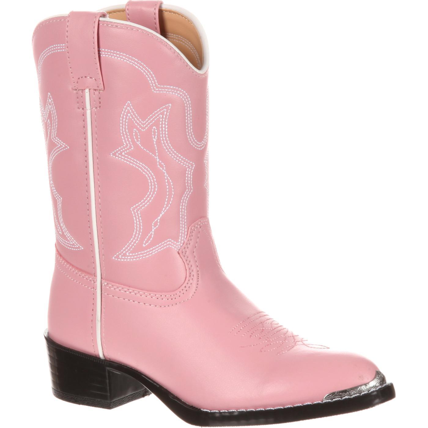 Durango Boot Girls Pink Western Boots Style Bt858