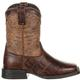 Lil' Durango® Mustang™ Big Kids' Faux Gator Western Boot, , small