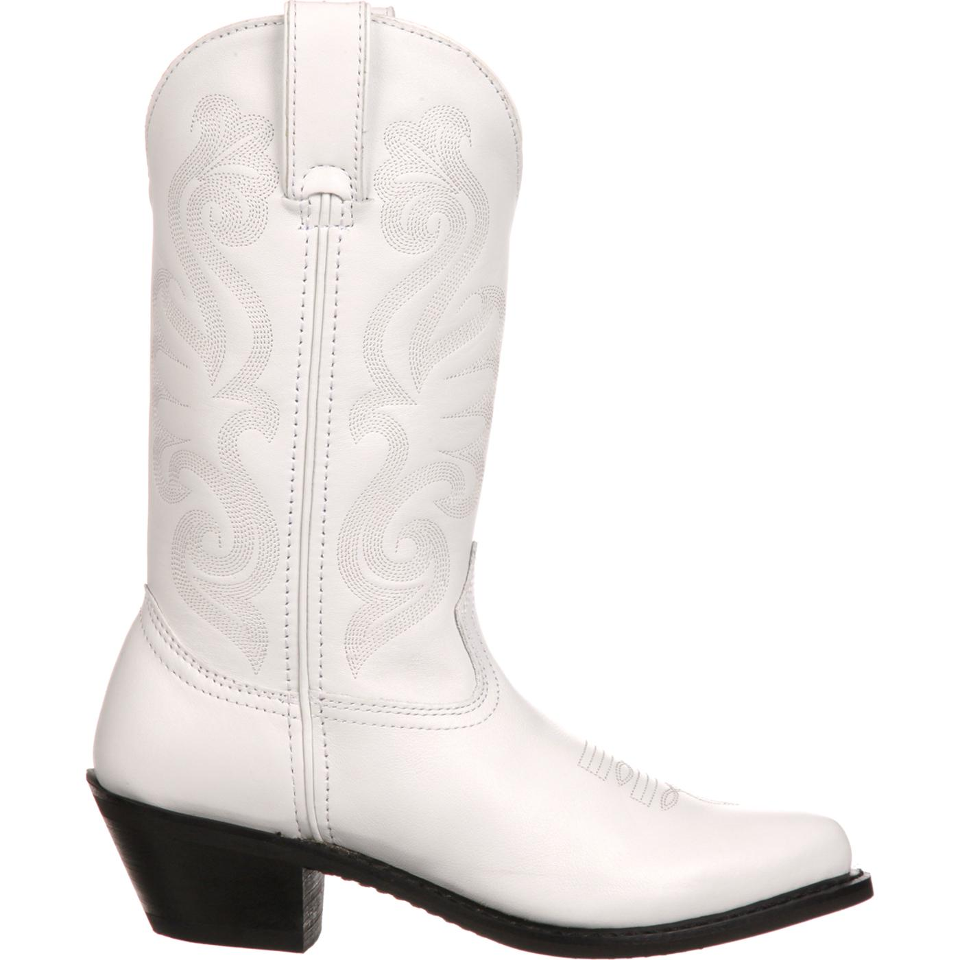 durango s white leather western boots style rd4111