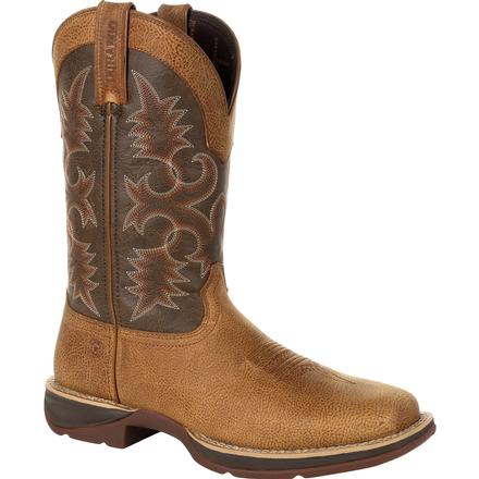 Rebel by Durango Marbled Tan Western Boot, , large