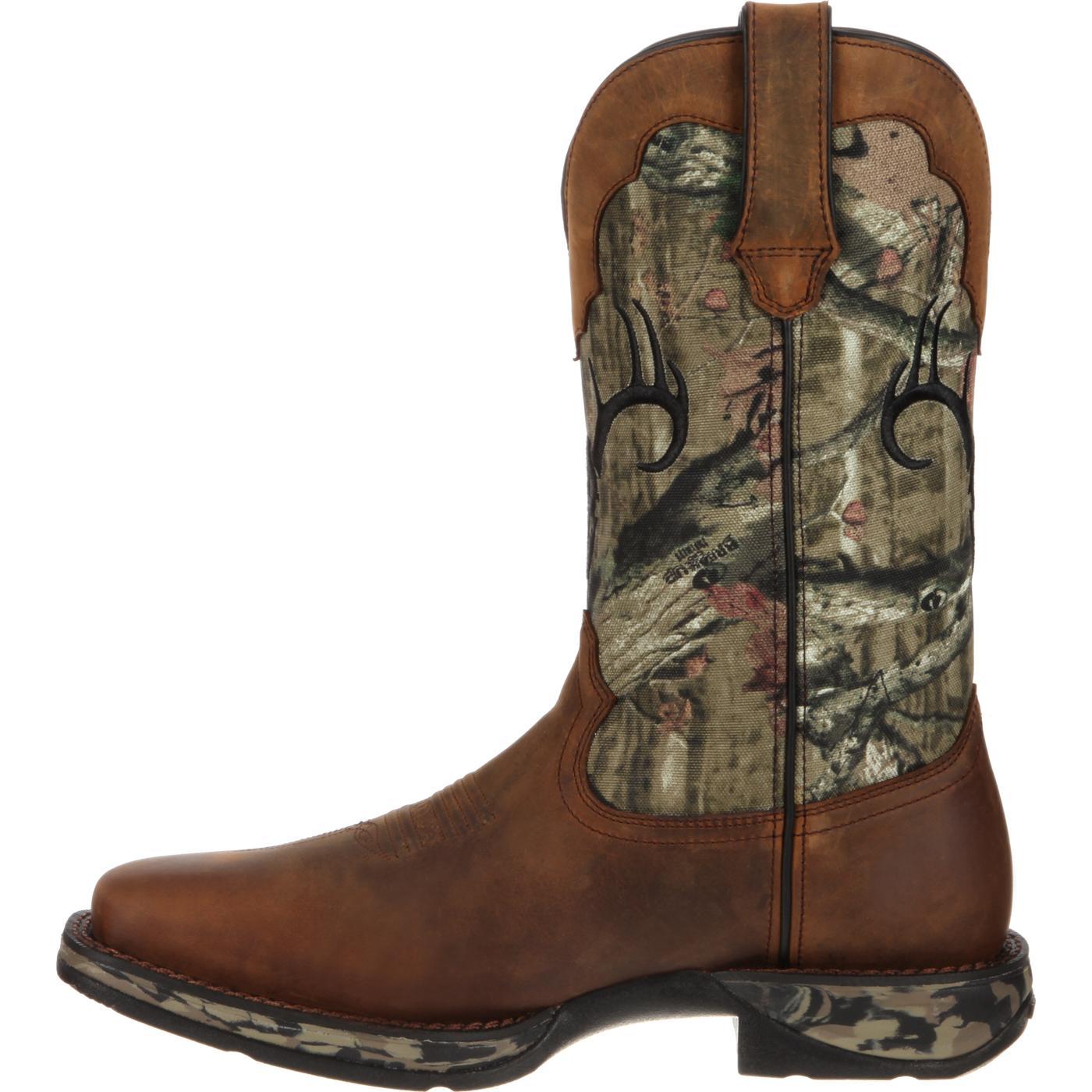 rebel by durango waterproof camo deer skull western boot