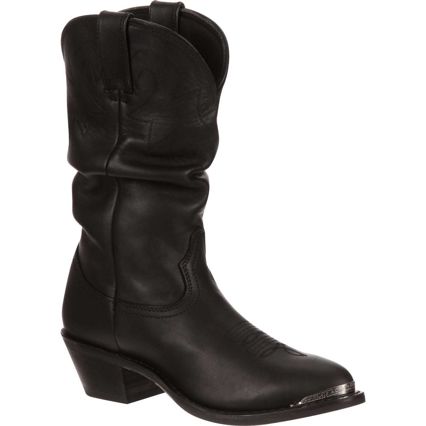 Cowboy womens boots black best photo