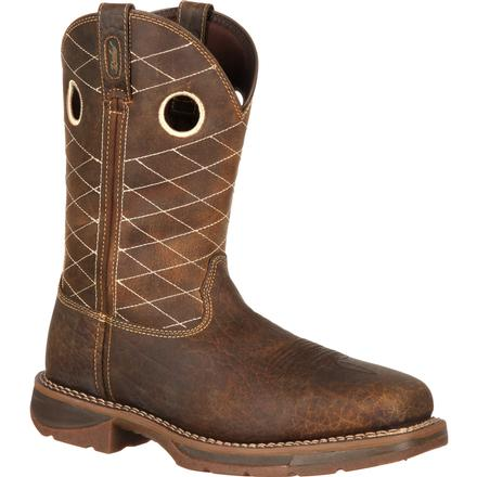 Workin' Rebel™ by Durango® Brown Composite Toe, , large
