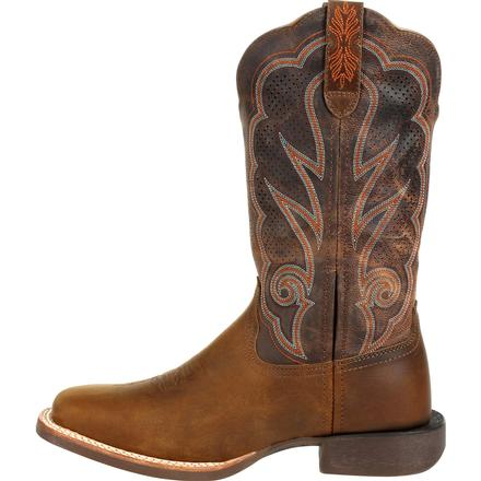 Durango® Lady Rebel Pro™ Women's Cognac Ventilated Western Boot, , large