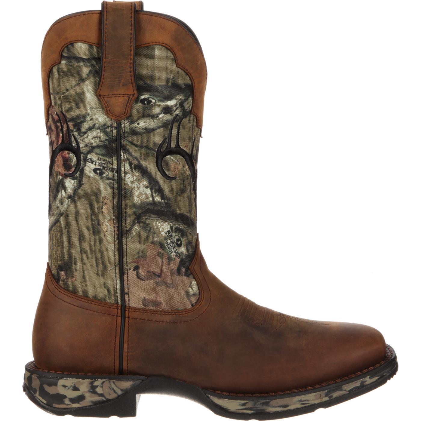 Rebel by Durango Waterproof Camo Deer Skull Western Boot, DDB0058