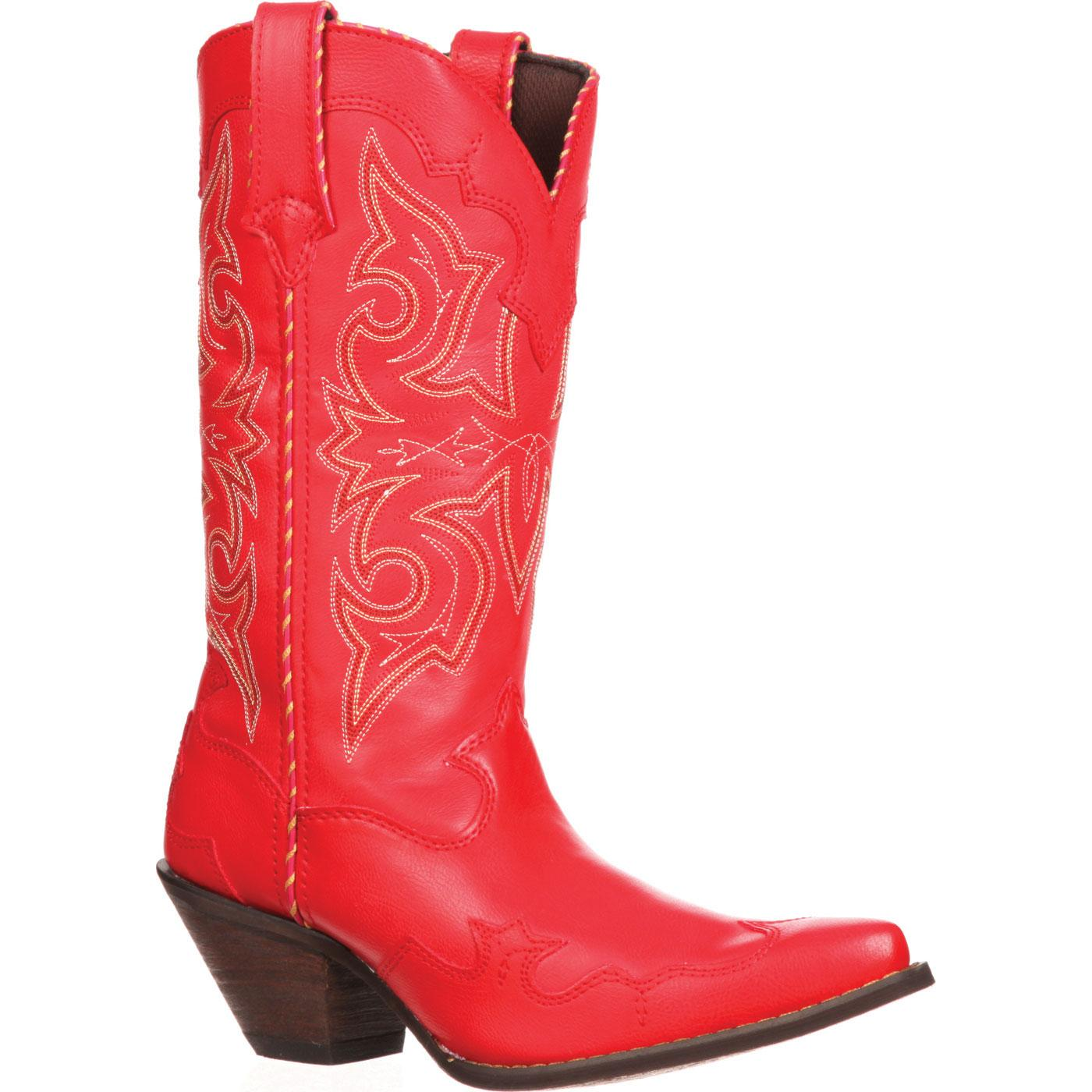 a0021b210e4 Crush by Durango  Women s 12-Inch Red Western Boots