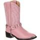 Durango Big Kid Pink Rhinestone Western Boot, , small