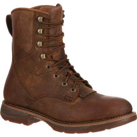 Workin' Rebel by Durango Steel Toe Waterproof Western Lacer Boot, , large