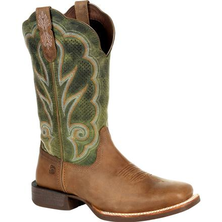 Durango® Lady Rebel Pro™ Women's Ventilated Olive Western Boot, , large