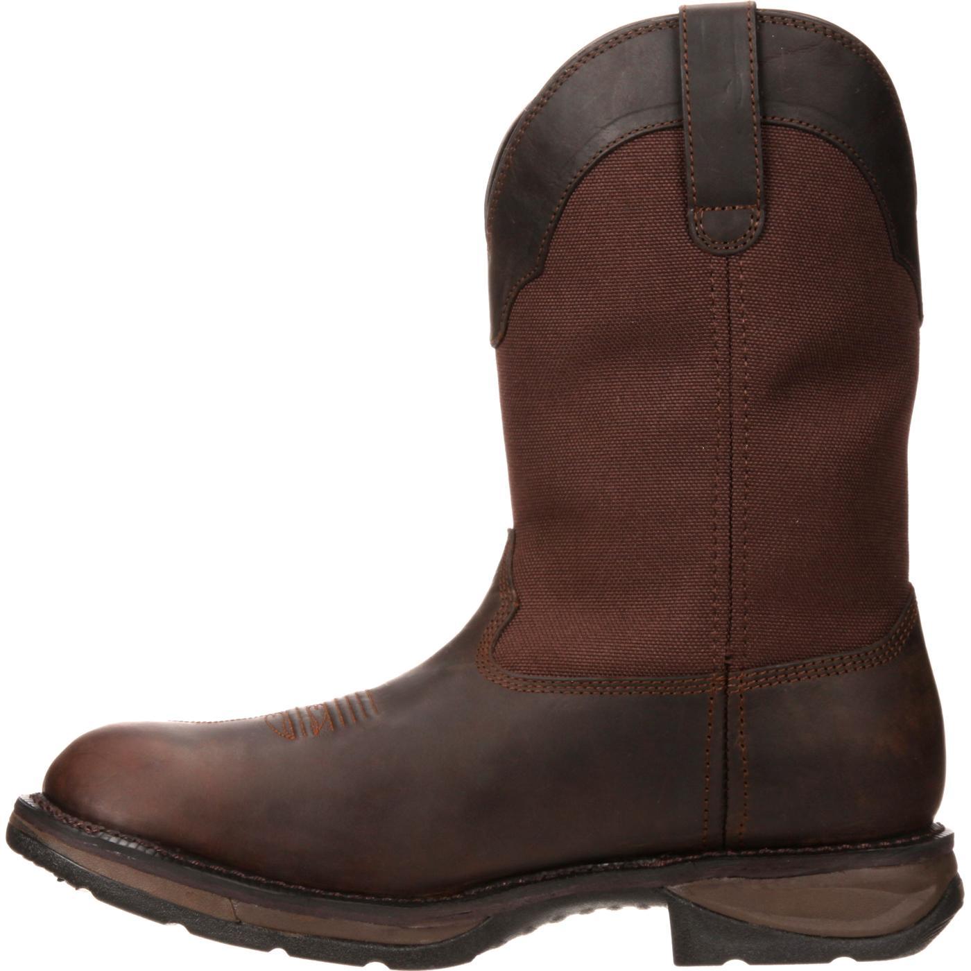 f14ebfe8b7f Workin' Rebel by Durango Steel Toe Waterproof Western Boot