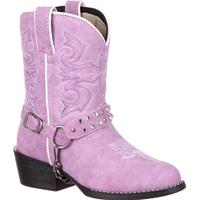 Lil' Durango Big Kid Lavender Bling Harness Western Boot, , medium