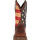 Rebel™ by Durango® Steel Toe Flag Western Flag Boot, , small