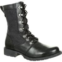 Durango Drifter Women's Black Military Inspired Lacer Boot, , medium