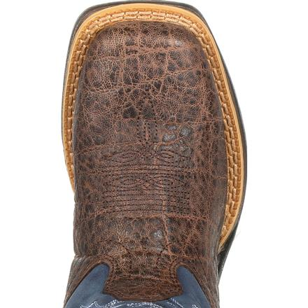 Lil' Rebel™ by Durango® Big Kids Faux Exotic Western Boot, , large