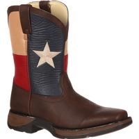 Lil' Durango Kids' Texas Flag Western Boot, , medium