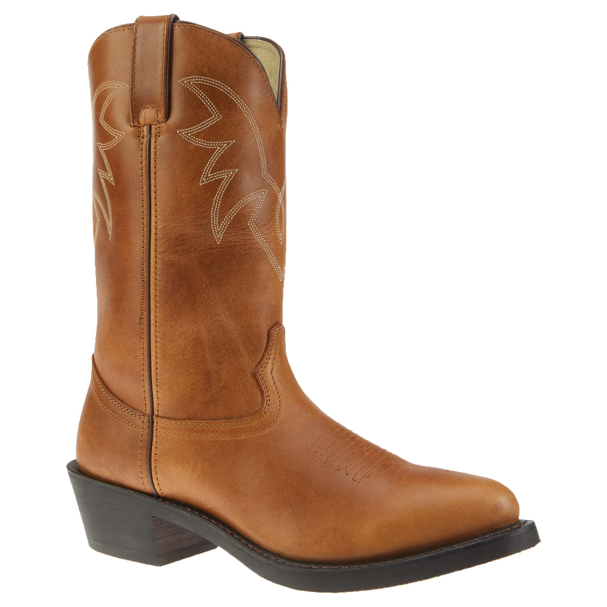 Durango Womens Black Boots Leather Western 11 Inch Slouch Oiled
