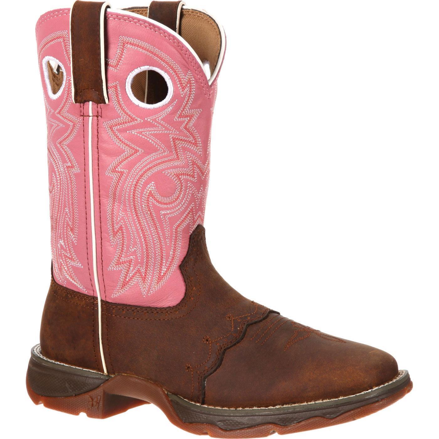 e8fb3203bb3 Lady Rebel by Durango Women's Blush n' Lace Saddle Western Boot